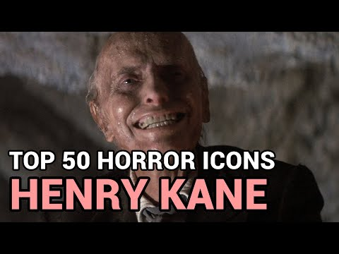 01. Henry Kane Horror Icons Top 50