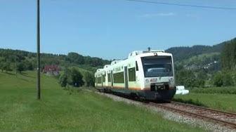Renchtalbahn zwischen Oberkirch - Bad Griesbach