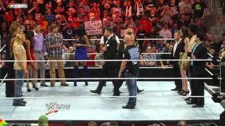 "Raw: The Miz & Alex Riley confront ""Stone Cold"" Steve Austin."