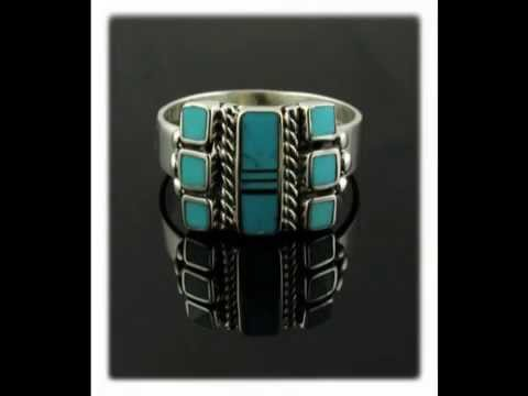 The inlay jewelry of Stanley Manygoats by Durango Silver Co