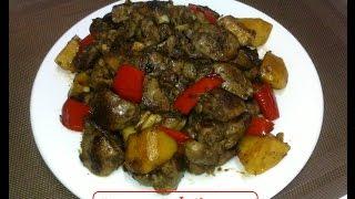 Adobo Chicken Liver