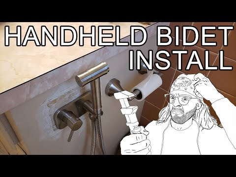 How To Install A Hot Cold Bidet Review Trustmi Youtube