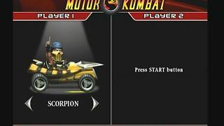 Mortal Kombat Armageddon Motor Kombat