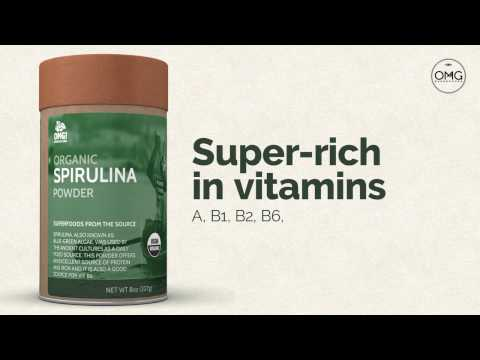 OMG Superfoods! - Spirulina Powder contains...
