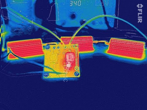Using Thermal Camera to inspect a PCB (with FLIR ONE PRO)