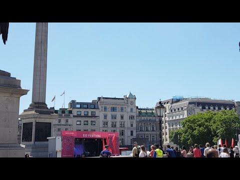 Eid in Trafalgar Square 2017