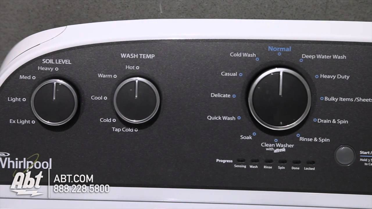 whirlpool top loading washer wtw4900bwh overview