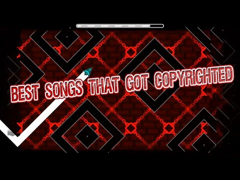 Geometry dash - Top 5 songs that got removed ;3;  (Updated)