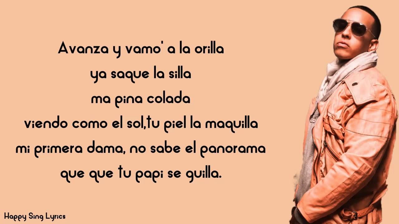 El Amante Daddy Yankee Ft J Alvarez Lyrics Youtube
