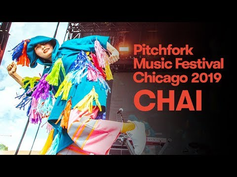 CHAI perform live in Chicago for Pitchfork Music Festival 2019 #pitchforkmusicfestival #pmf2019.