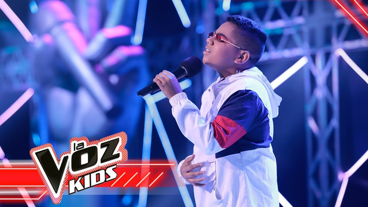 Hostin Ciro canta 'Andas en mi cabeza' | La Voz Kids Colombia 2021