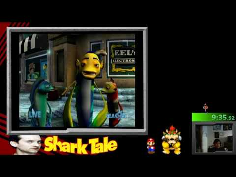 Shark Tale Speedrun WORLD RECORD!!!