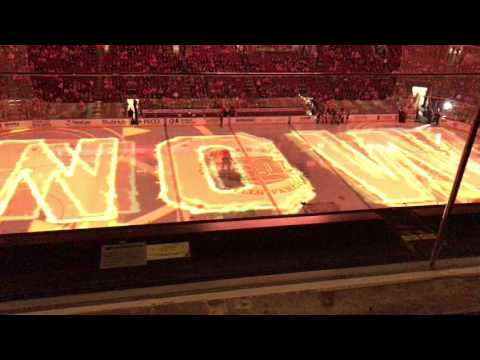 Toronto Maple Leafs vs Philadelphia Flyers 1/26/17 - Intros & Ice Projection Show