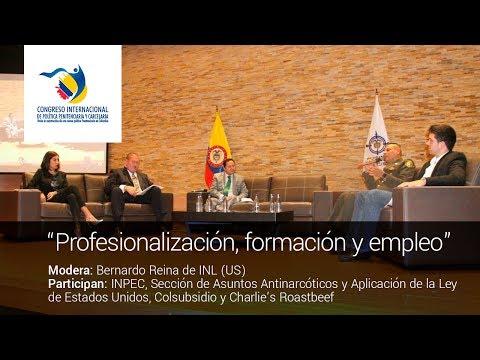 #PolíticaCarcelaria Panel 4: Profesionalización, formación y empleabilidad