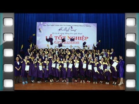 Kỳ thi và lễ tốt nghiệp KELLY PANG NAIL school graduation