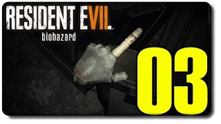 تختيم رزدنت ايفل 7 #3 - حل لغز الباب السري و يد الدمية - Resident Evil 7 DEMO secret door solved