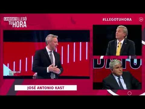 Participación de José Antonio Kast en Candidato Llego tú hora de TVN