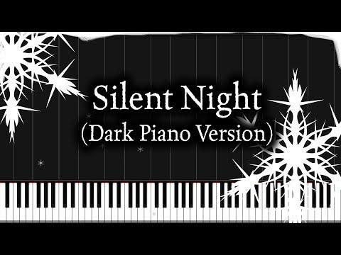 Silent Night (Dark Piano Version) | Piano Tutorial + Sheet Music