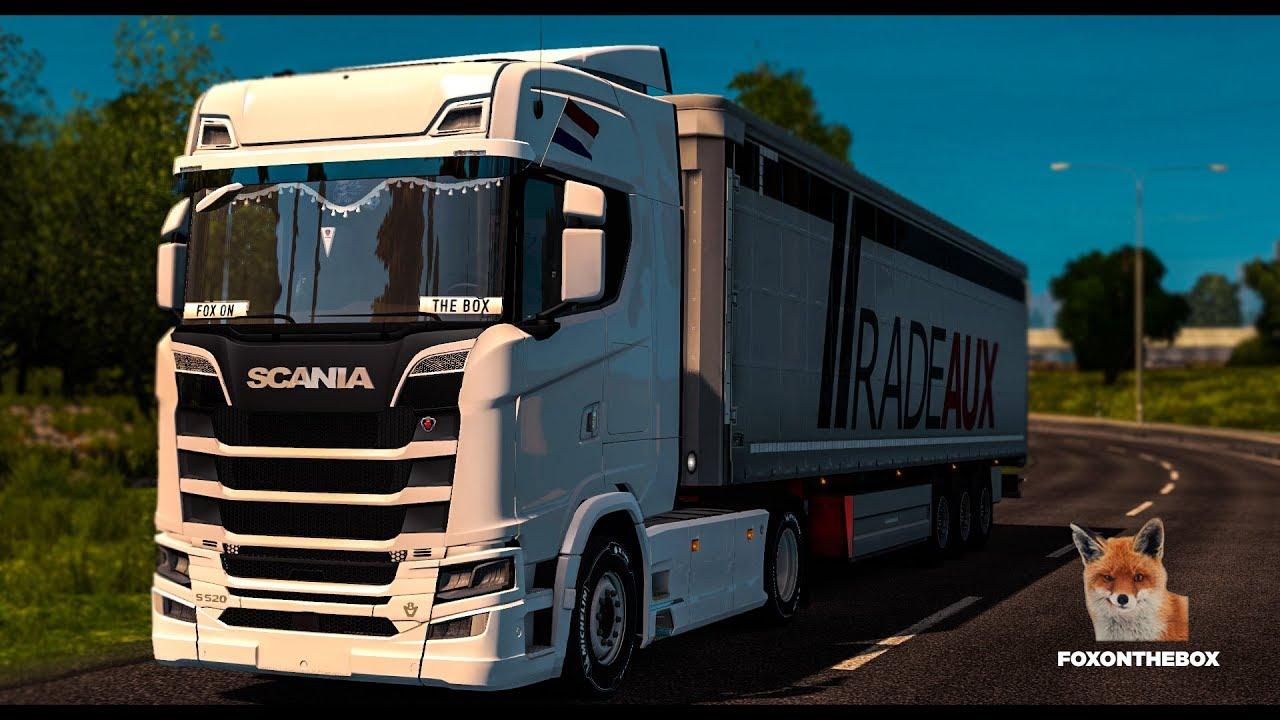 Scania New Generation Mega Mod | Euro Truck Simulator 2 (ETS2 1 28 Mod)