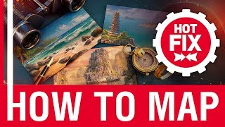 Hot Fix: How to map | World of Warships
