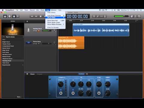 How to create a podcast in garageband 11