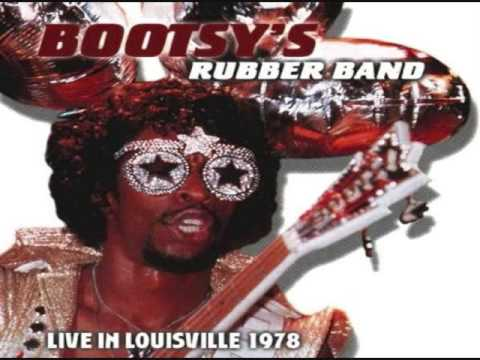 Bootsy's Rubberband Live in Louisville LP 1978