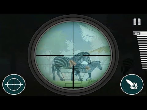 ► Safari Hunter 2018 - Animal Shooting Game Deer,zebra Lungs,lion,tiger Hunting