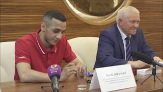 Габил Мамедов вернулся с Европейских игр-2019
