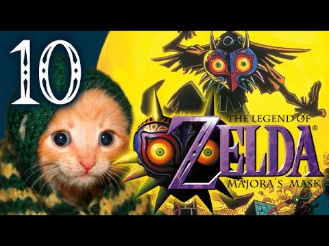 Cats Play Majora's Mask (Part 10) - Adventures in Seahorse Reproduction
