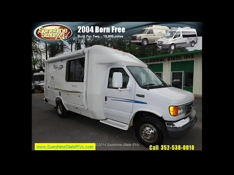 2004 Born Free Built For Two Class B Motorhome At Sunshine State Rvs