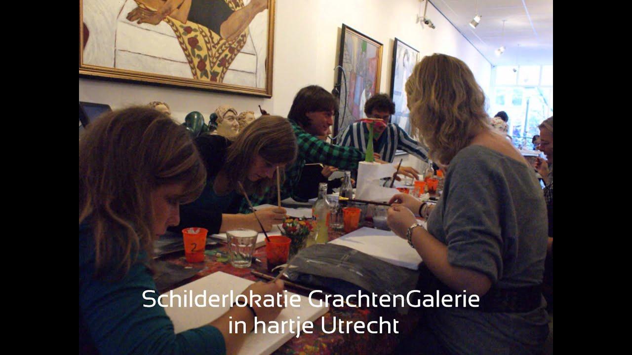 Schilderworkshop Andy Warhol Portretschilderen Bedrijfsuitje Utrecht