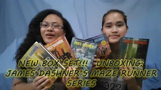 UNBOXING:  James Dashner's Maze Runner Series | Featuring Chezkake