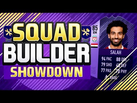 SQUAD BUILDER SHOWDOWN!! HERO SALAH!! 85 RATED Purple Mohamed Salah