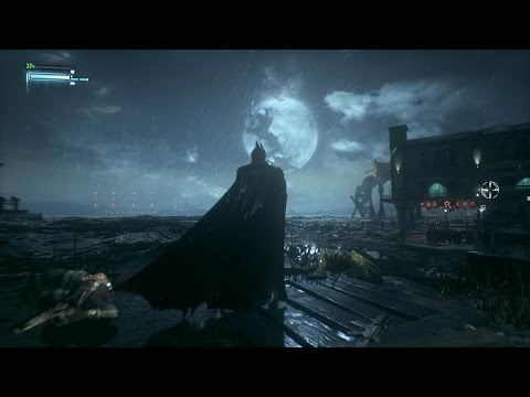 Batman: Arkham Knight - Open World Free Roam Gameplay (PC HD) [1080p]