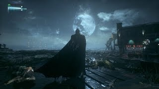 Batman: Arkham Knight - Open World Free Roam Gameplay (PC HD) [1080p]