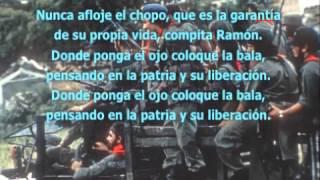 Luis Enrique Mejia Godoy - Memorandum Militar 1-79 +Letra