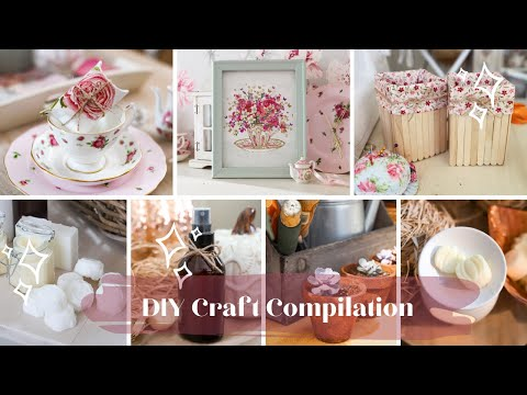 DIY Craft Compilation, 9 Ideas for Last Minute Christmas Gifts 2020
