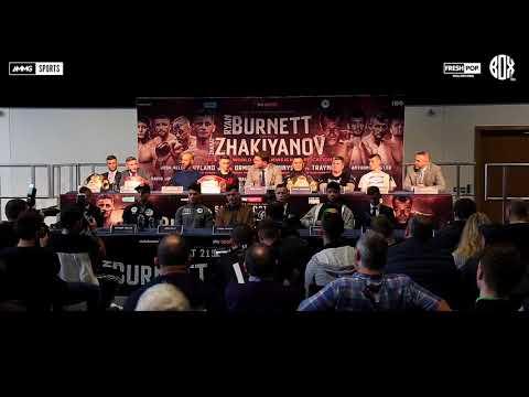 Matchroom Boxing's Final Press Conference in Belfast #BurnettZhakiyanov (HD)