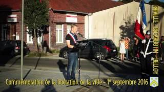 Commémoration de la libération de la ville de Friville-Escarbotin-Belloy