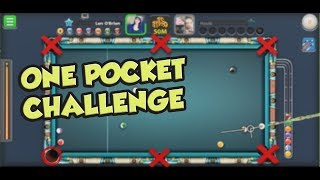 ALL BALLS IN ONE POCKET | CHALLENGE ACCEPTED | 8 BALL POOL - MINICLIP