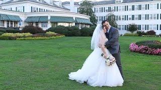 Romantic Seaview Fall Wedding {lauren & l.a.}