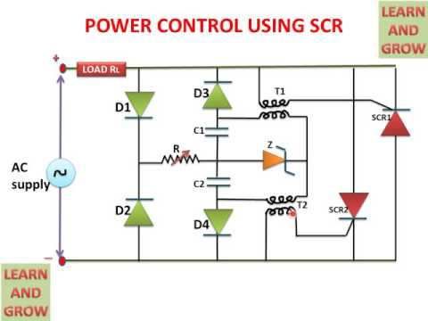POWER CONTROL USING SCR ! LEARN AND GROW