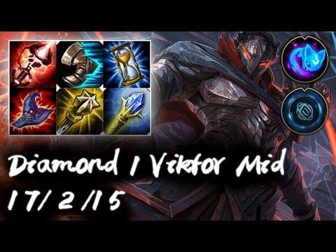Diamond 1 Viktor Mid vs Vladimir | Korea High Elo