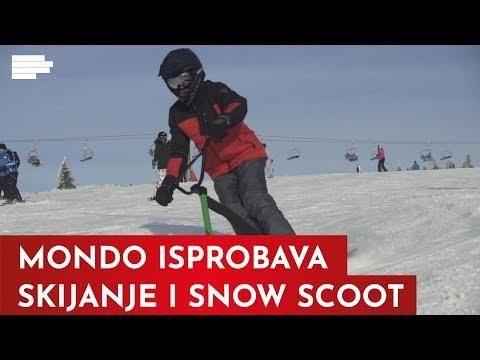 Probali smo snow scoot i preživeli da vam prepričamo!   MONDO VIDEO
