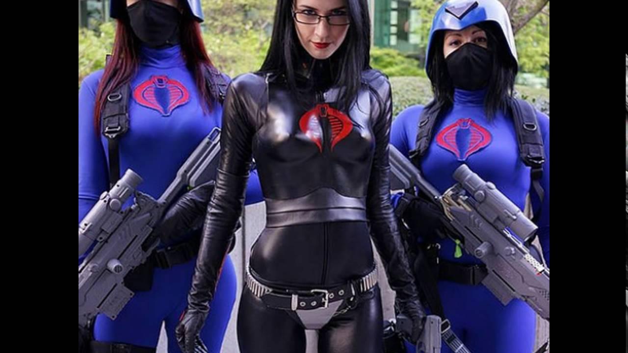 cosplay_Baroness Cosplay Latex - YouTube