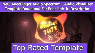New Avee Player Audio Spectrum Template 2020