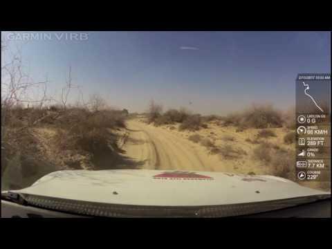 Cholistan Desert Rally 2017 IJC rally team Asad marwat onboard cam