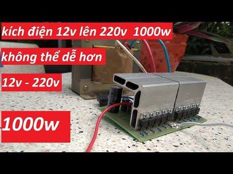 Mạch Inverter,mạch Kích điện(200k)đã Có Bo Sóng Sin.0989.689.333