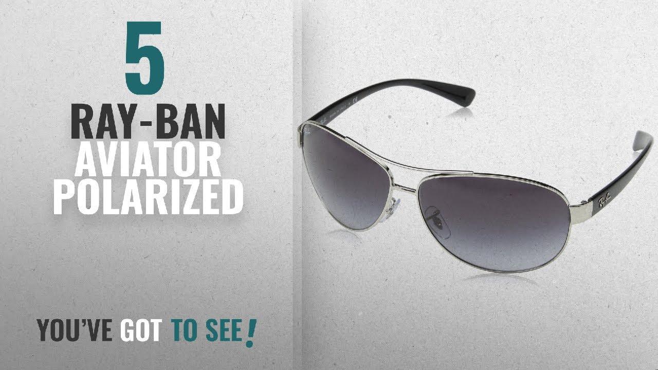 b530638bad Top 10 Ray-Ban Aviator Polarized  2018   Ray Ban Unisex RB3386 Plain ...