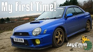 My First Drive of a Subaru Impreza WRX (JDM Legends Tour Pt. 8)